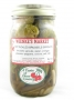 Hot Pickled Brussels Sprouts w/jalapeno peppers-16 oz.